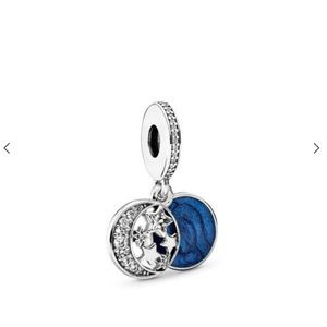 Pandora moon and stars charm